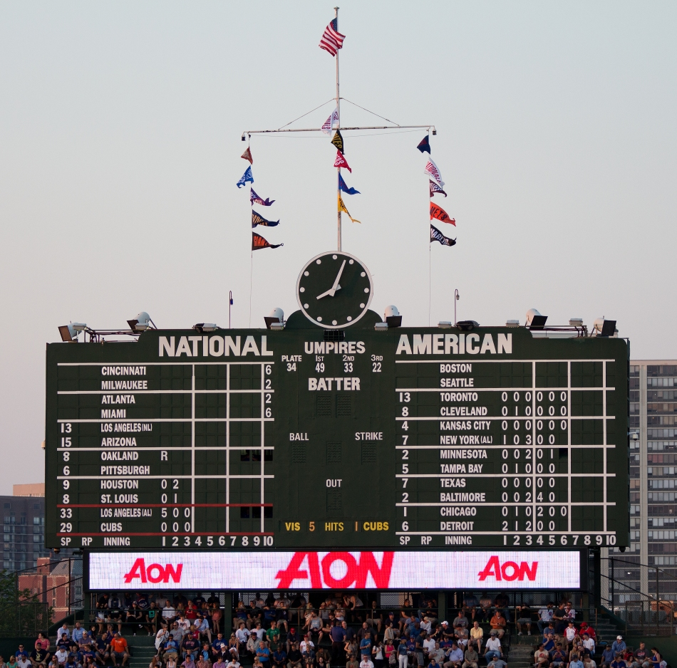 Historic Scoreboard
