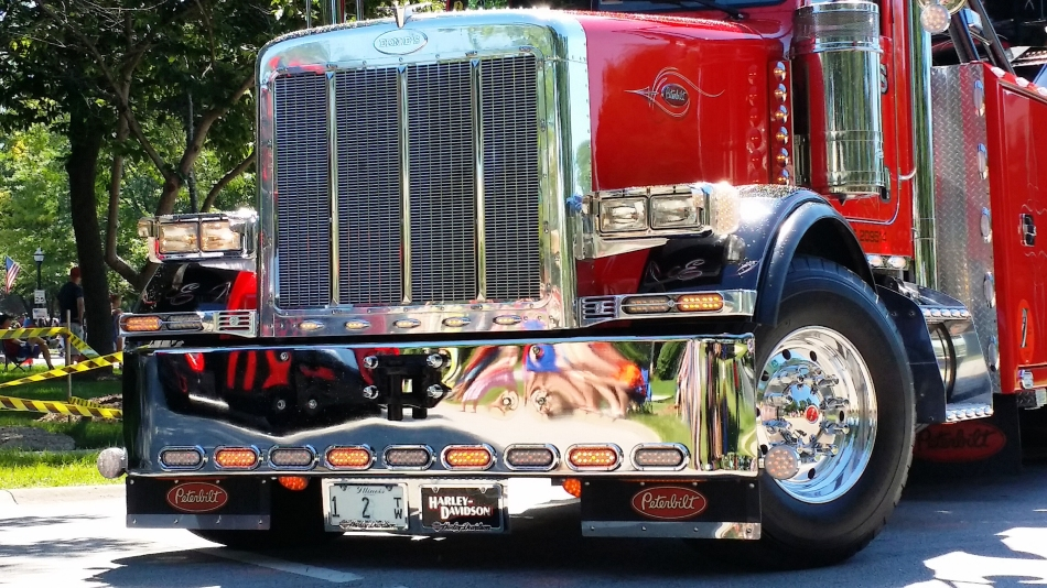 Trucking Along