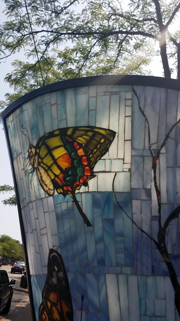 Butterfly Fountain